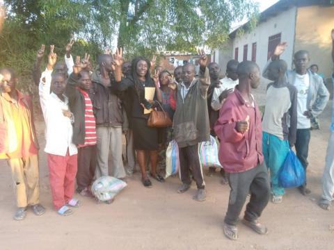 libération détenus de Kipushi